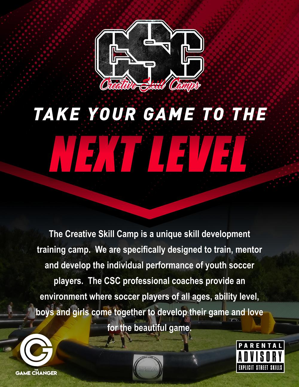 Franklin County Soccer Association (Creative Skills Camp)